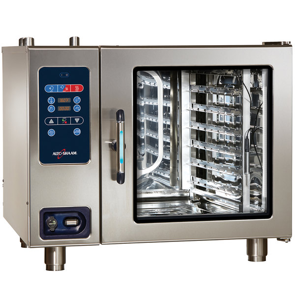 Alto-Shaam CTC7-20E Combitherm Electric Boiler-Free 16 Pan Combi Oven - 480V, 3 Phase Main Image 1