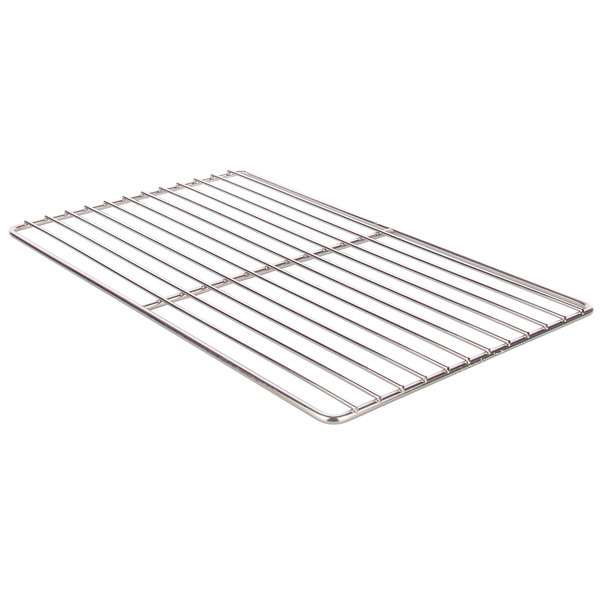 """Rational 6010.1101 12"""" x 20"""" Stainless Steel Oven Grid / Rack Main Image 1"""