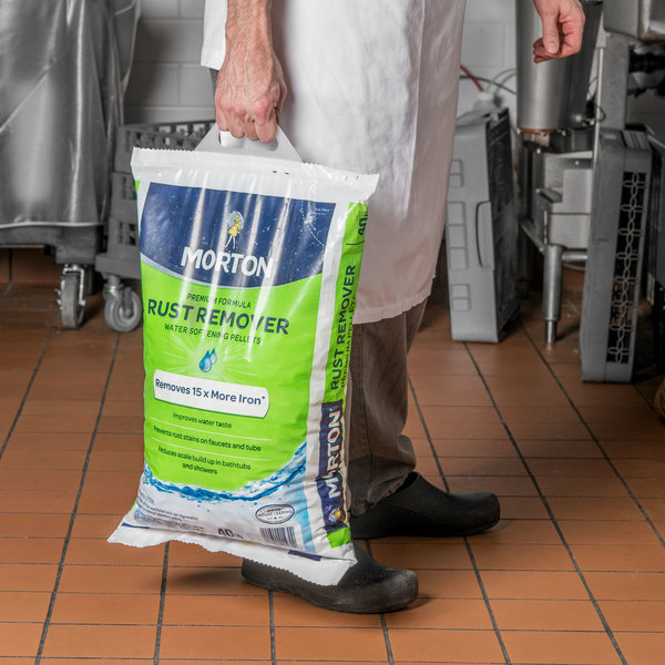 Morton Rust Remover Salt - 40 lb. / 640 oz.
