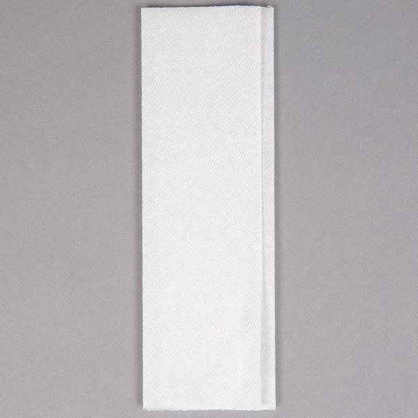 White Premium M-Fold (Multifold) Through-Air-Dry (TAD) Towel - 2800/Case