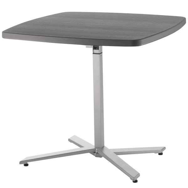 "NPS Cafe Time Adjustable Height Table, 30"" - 42"" - CTT3042"