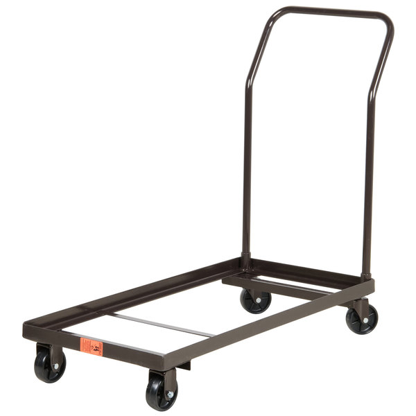 National Public Seating DY-700 Folding Chair Dolly Main Image 1
