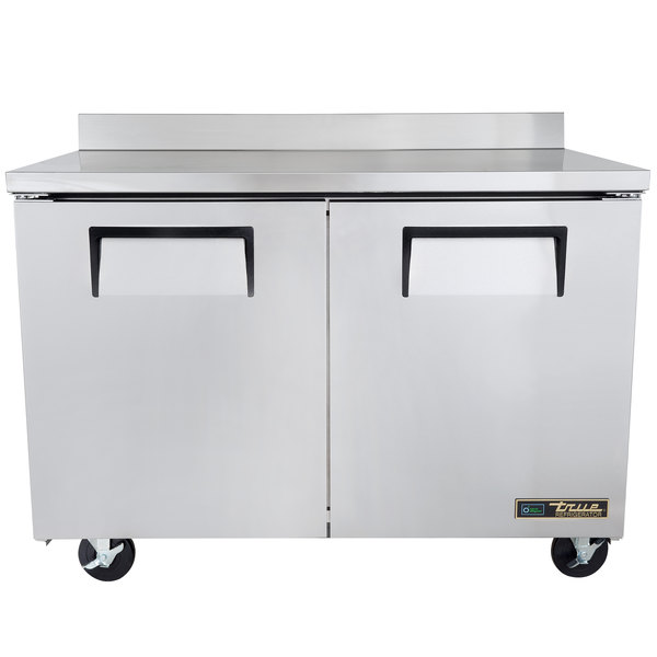 True TWT-48F 48 inch Two Door Worktop Freezer