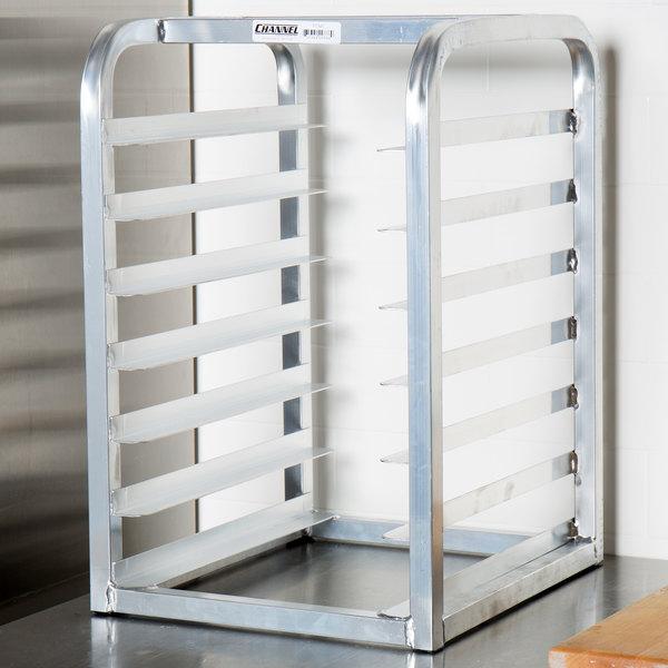 Channel TT307 7 Pan End Load Countertop Half Bun / Sheet Pan Rack - Assembled