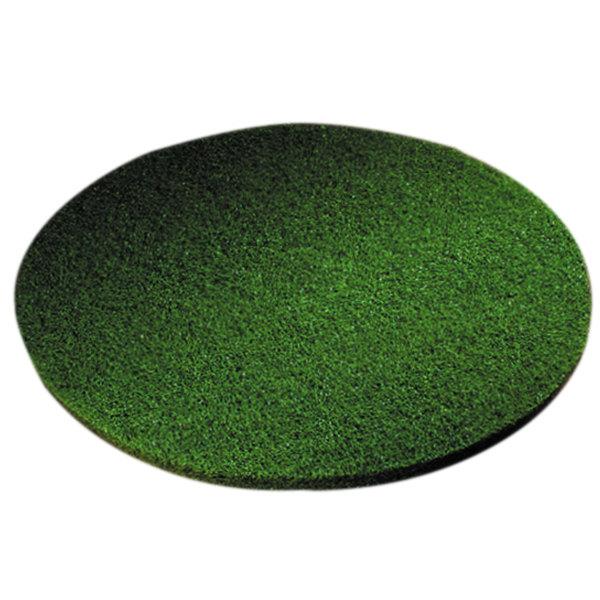 "Scrubble by ACS 55-27 Type 55 27"" Green Scrubbing Floor Pad - 2/Case"