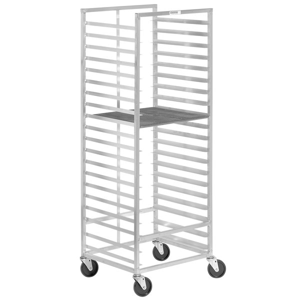 Channel 547A 15 Screen End Load Donut Screen Rack - Assembled