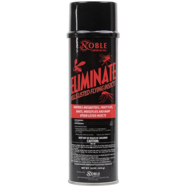 Noble Chemical Eliminate Flying Insect Killer - Aerosol 1 Pint / 16 oz. - 12/Case