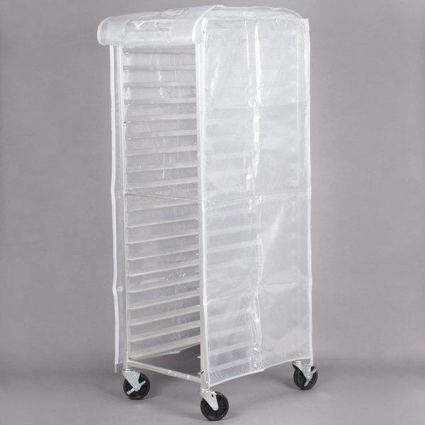 Regency 63 inch Translucent 20 Mil Plastic Bun Pan Rack Cover