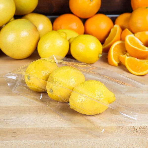 """LK Packaging P12G0452310 Plastic Food Bag 4 1/2"""" x 2 3/4"""" x 10 3/4"""" - 2000/Box Main Image 3"""