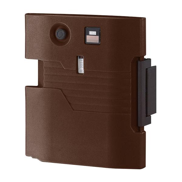 Cambro UPCHTD800131 Dark Brown Heated Retrofit Top Door for Cambro Camcarrier Main Image 1