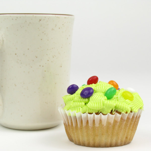 """White Fluted Baking Cup 1 3/4"""" x 1 1/8"""" - 1000/Pack"""