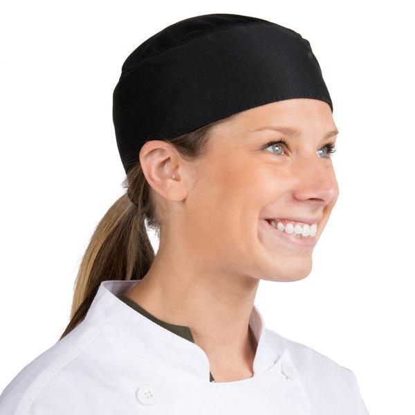 Headsweats Black Chef Skull Cap
