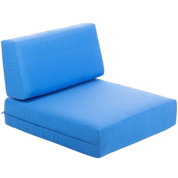 BFM Seating PH6101-CU Belmar Canvas End Armchair Cushion Set Main Image 1
