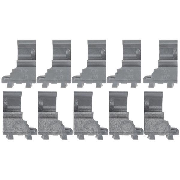 Cambro ECC10580 Camshelving® Elements Connector Corner - 10/Pack