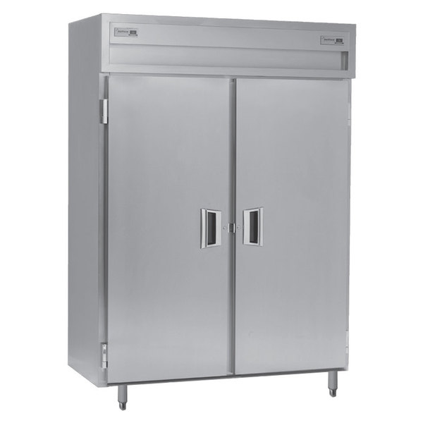 Delfield SAF2S-S 38 Cu. Ft. Two Section Solid Door Shallow Reach In Freezer - Specification Line