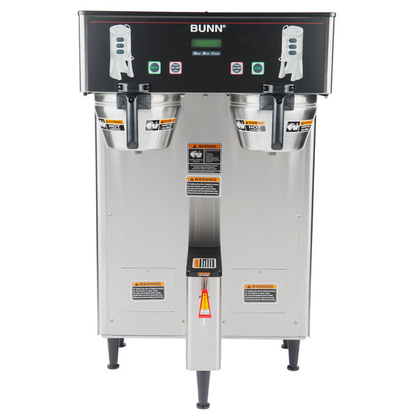 Bunn 34600.0000 BrewWISE Dual ThermoFresh DBC Brewer with Funnel Lock on