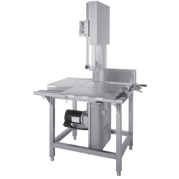 "Hobart 6801-18 142"" Vertical Meat Saw - 3 hp, 200/230/60/3V Main Image 1"