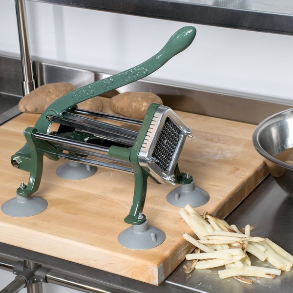 """Choice 1/4"""" French Fry Cutter with Suction Feet"""