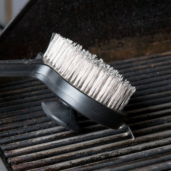 """17"""" Charbroiler / Grill Cleaning Brush with Dual Handle"""