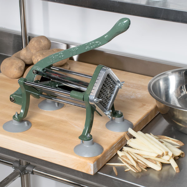 "Choice 3/8"" French Fry Cutter with Suction Feet Main Image 3"