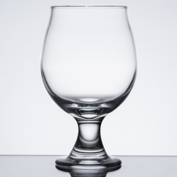 Libbey 3817 10 oz. Customizable Stackable Belgian Beer / Tulip Glass - 12/Case