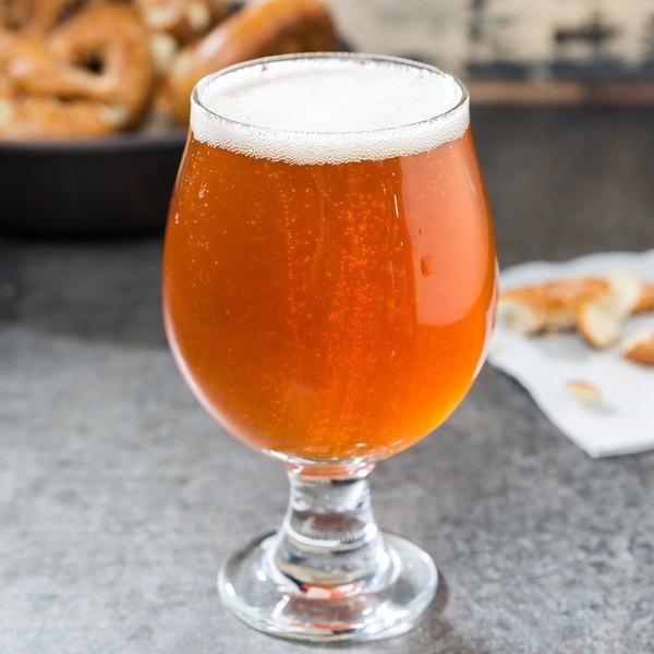 Libbey 3817 10 oz. Customizable Belgian Beer Glass - 12/Case