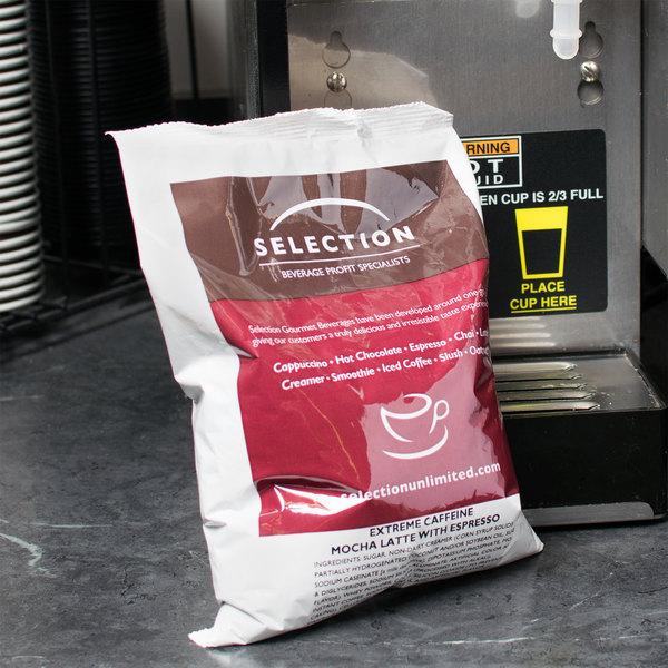 2 lb. Extreme Caffeine Mocha Latte / Espresso Mix