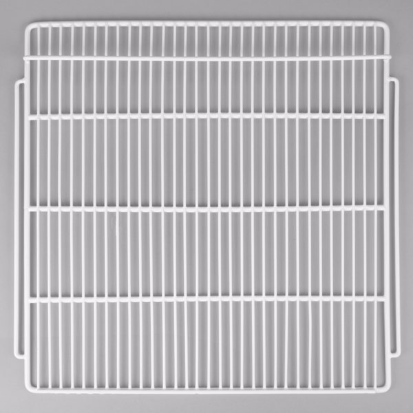 """Avantco 178SHELFGDS White Coated Wire Shelf - 24 3/8"""" x 23 5/8"""""""