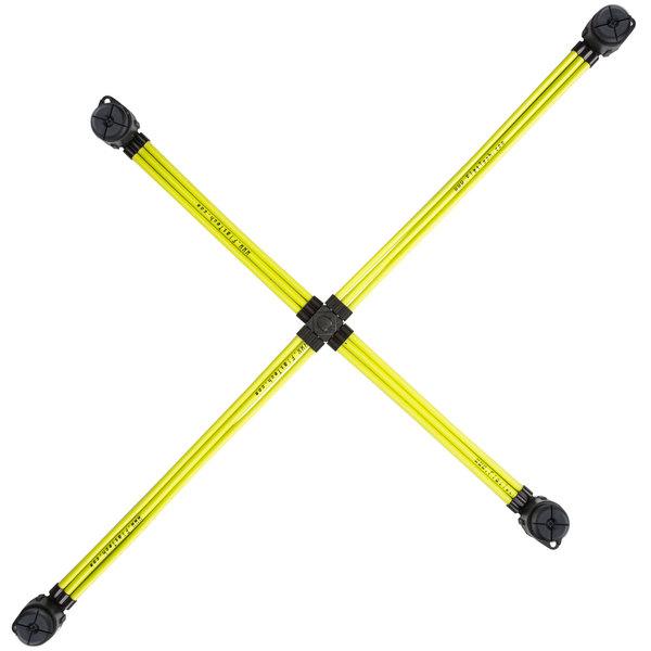 "FLAT Tech FPB5022A05 29 1/2"" x 20 1/2"" Yellow Table Pad"