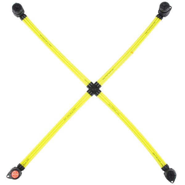 "Flat Tech FPB5015A05 27 1/2"" x 28"" Yellow Table Pad"