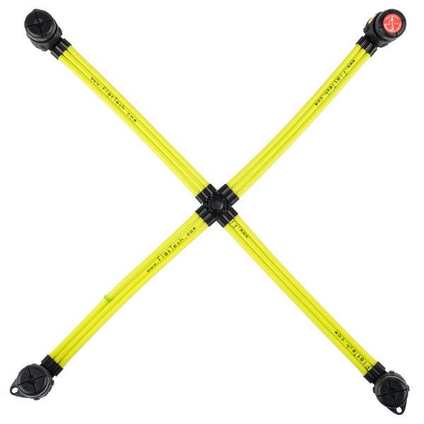 "Flat Tech FPB5030A05 22 1/2"" x 21"" Yellow Table Pad Main Image 1"