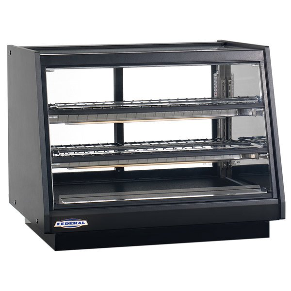 """Federal Industries ERR-4828SS Elements 48"""" Refrigerated Countertop Display Cabinet with Front Access - 12.5 Cu. Ft. Main Image 1"""