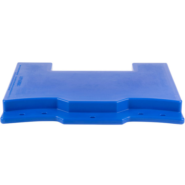 Cambro VCS32CNT186 Navy Blue Connector for Connecting Versa Carts to Versa Food Bars / Work Tables