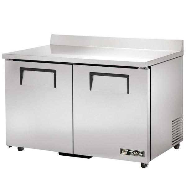 True TWT-48-ADA Refrigerator Two Door Work Top Refrigerator ADA Compliant - 12 cu. ft.