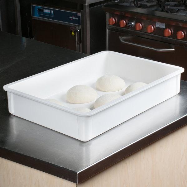 "MFG Tray 875008-5269 White Fiberglass Dough Proofing Box - 18"" x 26"" x 4 1/2"""