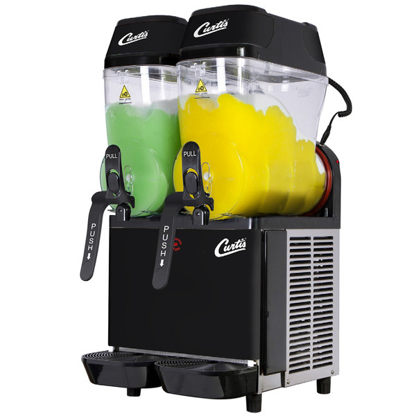 Curtis CFB2 Double 3 Gallon Pourover Slushy/Granita Frozen Beverage Dispenser