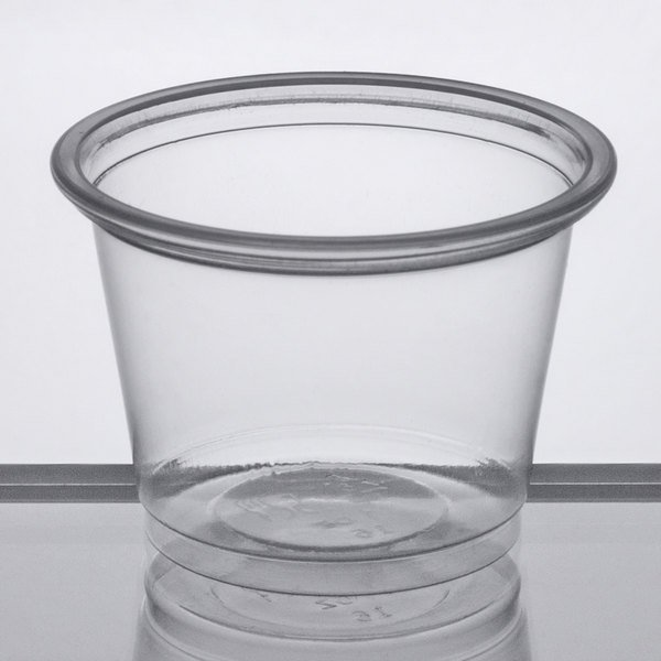 Portion Cup With Lid Option Jello Shot Choice Clear Plastic Souffle Cup