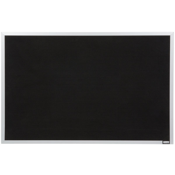 Open Face 24W x 30H Satin Anodized Finish Aluminum Directory Changeable Letter Board