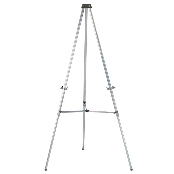aarco ae66 35 66 aluminum telescopic display easel