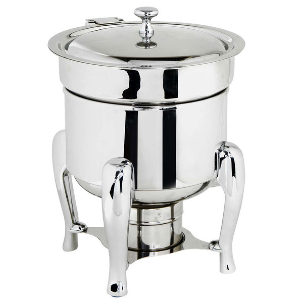 Eastern Tabletop 3108 Classic 7 Qt. Soup Marmite with Hinged Lid