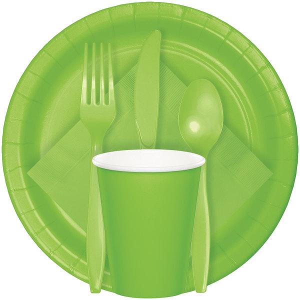 Lime Green Dinner Napkins 50 Per Pack