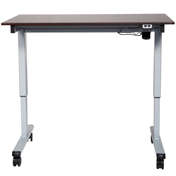 Luxor STANDE48AGDW Electric Adjustable Standing Desk with