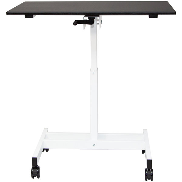 """Luxor STANDUP-SC40-WB Stand Up Desk - 40"""""""