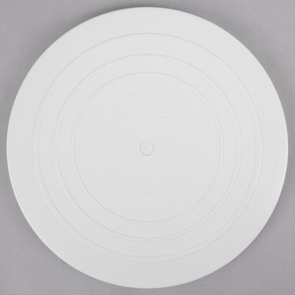 "Wilton 302-4104 Decorator Preferred Round Smooth Edge Cake Separator Plate - 12"""