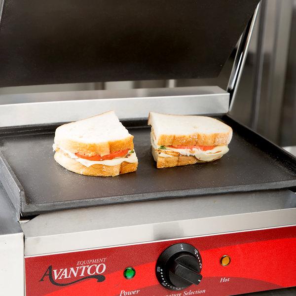 Avantco P7BTMFLT Flat Bottom Grill Plate