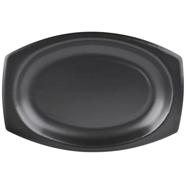 """Dart 9PRBQR Quiet Classic 9"""" Black Laminated Foam Platter - 125/Pack Main Image 1"""