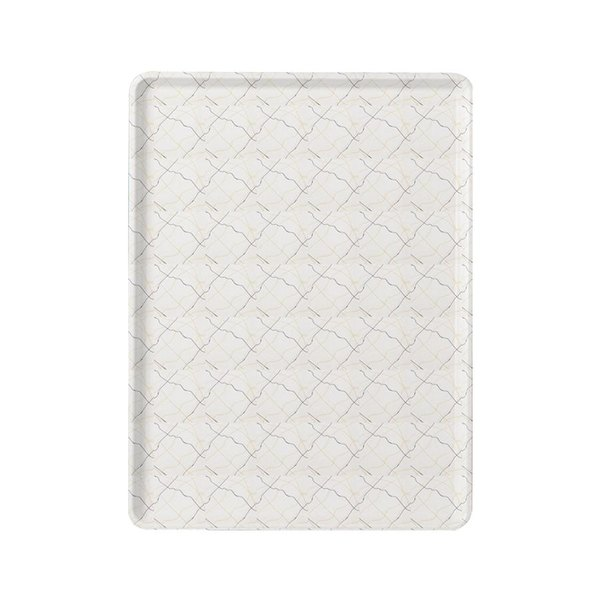 """Cambro 1520D 15"""" x 20"""" Patterned Dietary Tray - 12/Case"""