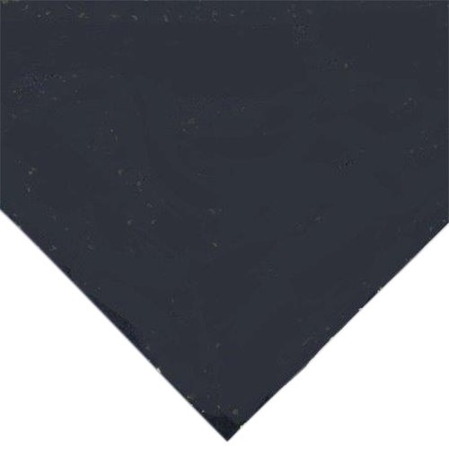"Cactus Mat 1035R-4SB 48"" x 50' Enviro-Gym Sports Floor Black Rubber Floor Mat - 3/8"" Thick"