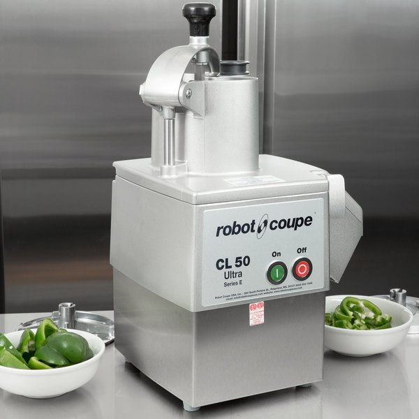Robot Coupe CL50 Ultra Pizza Continuous Feed Food Processor - 1 1/2 hp Main Image 9