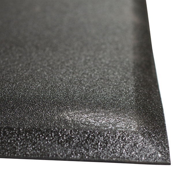 "Cactus Mat 2300M-34 Walrus Hide 3' x 4' Black Anti-Fatigue Floor Mat - 3/4"" Thick Main Image 1"